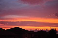 ribbons of colour (ladybugdiscovery) Tags: sky colour clouds evening dusk