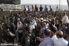 Qalandiya checkpoint, last Friday of Ramadan, West Bank, 1.7.2016 (activestills) Tags: palestine westbank soldiers muslims ramadan occupation borderpolice qalandiyacheckpoint freedomofmovement orenziv topimages
