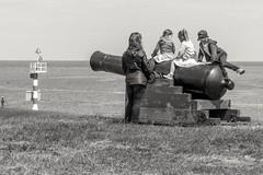 Canon Riding (pel16931) Tags: sea holland water netherlands wadden sand marine nederland noordzee zee nl noordholland zand denhelder nieuwediep nordsea sonyilce6000