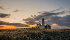 2016 03 Reykjavik ligh house sunset TB (AKAMASSI) Tags: light sunset sky lighthouse nature grass canon island iceland reykjavik tamron islande nationalgeographic pierremichel canon5dmarkiii pierremichelphotography