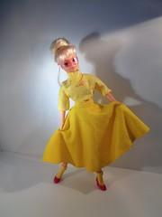 1987 Circular skirt yellow (CooperFalcon) Tags: sindy