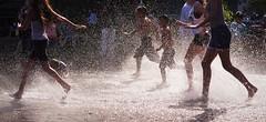 Splash (michael.veltman) Tags: park chicago water fountain kids illinois village millenium foundation childrens crown sos splash lockport splashing