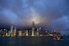 HK005 (noyestravels) Tags: china skyline hongkong kowloon victoriapeak victoriaharbor symphonyoflights tsimshatsuiwaterfrontpromenade