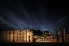 Port Arthur as it stands (Leanne Cole) Tags: architecture clouds landscape ruins skies moody photographer photos australia images tasmania environment fineartphotography penitentiary portarthur architecturalphotography landscapephotography environmentalphotography fineartphotographer nikond800 environmentalphotographer leannecole leannecolephotography