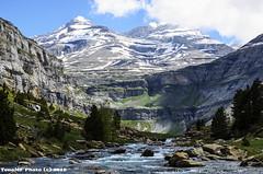 Ordesa (tonomf) Tags: espaa mountains water clouds ro river landscape agua nikon huesca paisaje nubes montaa pirineos ordesa parquenacional aragn nikond5100
