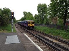 319007, Streatham (looper23) Tags: uk railroad england london electric train fcc br may rail railway trains class emu streatham 319 2013 319007