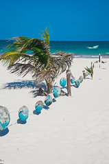 Dream Beach in Tulum, Mexico (terbeck) Tags: white beach strand mexico sand tulum playa palm palme mexiko terbeck