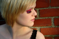 6a (RebeccaLynnPhotography8) Tags: pink portrait female photoshop makeup cannon expressive editing piercings artistry