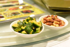 DSC_0216 (kawaiikiri) Tags: cucumber chinese greenwood peanuts pickle chineserestaurant seafoodrestaurant