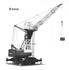 Jones 565 HLB High Quay Crane (Jibup) Tags: mobile crane head boom block chassis hook derrick root heavy jib strut sections slew ballast lifting hoist telescopic counterweight outriggers