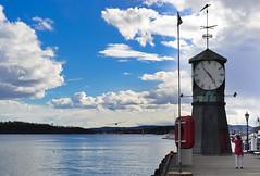Oslo|11 (Simone.Oliva) Tags: wood blue sea sky white house black color oslo norway museum architecture photography opera folk norvegia museet operahuset fearnley astrup nasjonal