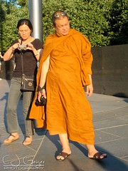 Candid Monk (C.J. Geiger) Tags: buddhist religion monk