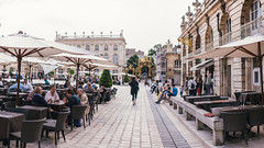 Place Stanislas (AlexanderThomasK) Tags: park city summer sky people france green love french fun 50mm cool nice nikon pretty place wheelchair sigma nancy crop 50 parc stanislas d90 aspc nikond90