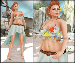 Ginger Snaps - SummerFest 2013 (Ginger Krokus) Tags: new summer fashion female 3d clothing truth mesh boom sl secondlife virtual tropical tropic gingersnaps summerfest styling ncore truthhawks teefy truthhair glamaffair gingerkrokus