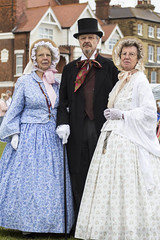 DA12425 (Destinys Agent) Tags: beach up festival costume seaside dress victorian charles dickens broadstairs dickensian