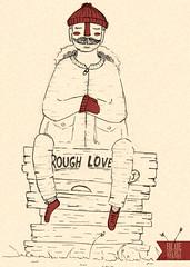 lenhador (Bruna Schenkel) Tags: man cute men typography sketch funny drawing traditional sketchbook type illustrator rough draw homem ilustrao bruna lumberjack desenho tipografia ilustra schenkel posca lenhador