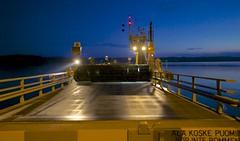 Vartsalan lossi (villoks) Tags: blue sea ferry finland meri y kustavi sininen lossi