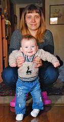 atacamea (GMH) Tags: retrato beb madre guagua pasos tejido depie suter atacameo