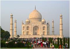 Taj-Mahal à Agra