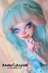 Monster High: Shining Star (Azyntil) Tags: monster high doll ooak cam barbie custom mattel repaint monsterhigh