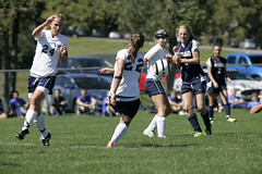Team 2 (westminster.college) Tags: sports field goal athletics women kick soccer titans womenssoccer 2013 jordansteele meremishler
