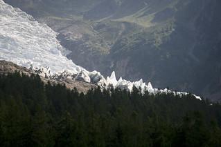 Monte Bianco - Glacier de Bossons