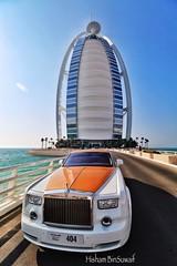 Rolls Royce (:: Suwaif ::) Tags: dubai uae rollsroyce burjalarab    burjkhalifa uploaded:by=flickrmobile flickriosapp:filter=nofilter
