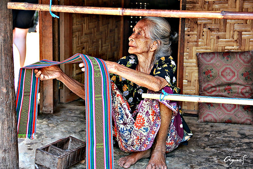 The gorgeous old lady at the traditional village of Sade Rambitan, Lombok