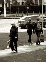 spotted (classicphoto62 (Schopenhauer1962)) Tags: street people monochrome candid streetphotography gimp 28 toned platina streetphotograpy lumixfz50 leicavarioelmarit bwincamera peopleofeuropeproject