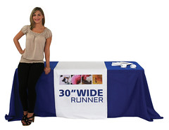 "Fabric Table Cover | Signarama | 30"" Runner"