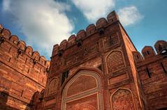 Agra IND - Agra Fort Amar Singh Gate