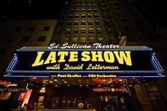 The Late Show with David Letterman (bwilliamp) Tags: nyc newyorkcity usa ny newyork manhattan broadway bigapple davidletterman edsullivantheater thelateshow thelateshowwithdavidletterman