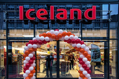 Iceland Opening - Moor Market (Tim Dennell) Tags: new building iceland construction market sheffield shops moor stalls opens 2013 heartofthecity