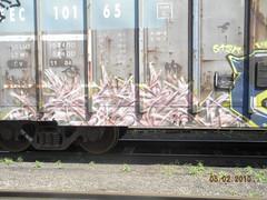 paser mfk (TheRapLetterTechnician) Tags: railroad train graffiti track pennsylvania side tracks rail trains pa rails freight railroads trackside freights