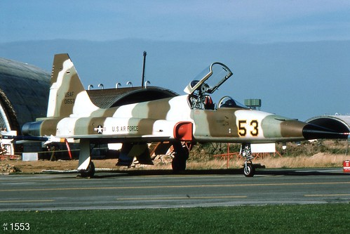 527th TFTAS  Northrop F-5E Tiger II 74-1553