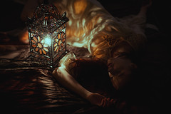 You used to light me up (Alessio Albi) Tags: light portrait 14 lantern 50 dreamcatcher d600