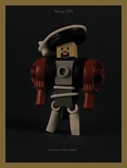 Henry VIII (the oneman) Tags: lego hans minifig moc holbein henryiii hansholbein minecraft
