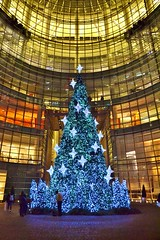 Bloomberg Bldg Christmas Tree (gigi_nyc) Tags: nyc newyorkcity christmastree christmaslights bloombergbuilding christmas2013