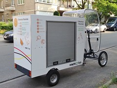 cargo bike (@WorkCycles) Tags: bike electric modern big workers box transport cargo brussel heavyduty ebike elektrische workcycles bezorg vrachtfiets pedalec bezorgfiets