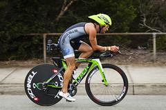 SuperSprint Gatorade Triathlon Race 2 - St Kilda (Bacoon) Tags: bike bicycle tattoo trek cycling australia melbourne victoria tri triathlon stkilda gatorade lazer legtattoo 1229 schnell steigen supersprint bikeleg speedconcept stkildaboulevard lazertardis