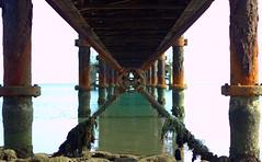 There is no straight line 5 (PanosKa) Tags: sea architecture landscape dock lamia agiamarina eiffels