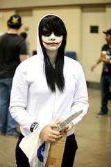 The Joker cosplayer (Gage Skidmore) Tags: arizona phoenix amazing comic cosplay center heath convention batman joker con 2014 ledger