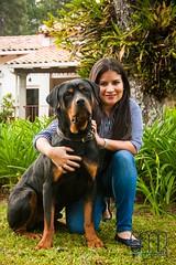 Fam Zuniga, Lagos 5 (GMatamorosR) Tags: she family woman dog dogs familia la photoshoot familie ella honduras perro hund perros rotweiler hn centroamerica hunden lulher propuestagmr