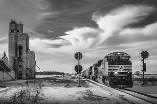 Norfolk Southern 180 in North Robinson, Ohio