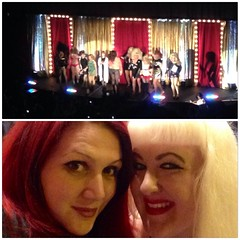 An awesome evening with Emily at the Castro Theatre seeing Shangela, Pandora Boxx, and the amazing Lady Bunny!