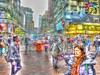 Hong Kong >>>Street scene (tiokliaw) Tags: world city people reflection travelling nature beautiful beauty digital photoshop buildings wonderful island interesting fantastic nikon scenery holidays colours exercise earth expression awesome w perspective images explore winner greatshot imagination sensational greetings colourful discovery hdr finest overview creations excellence addon highquality inyoureyes teamworks digitalcameraclub supershot recreaction hellobuddy mywinners mywinner worldbest anawesomeshot aplusphoto flickraward almostanything thebestofday nikonflickraward sensationalcreations blinkagain burtalshot