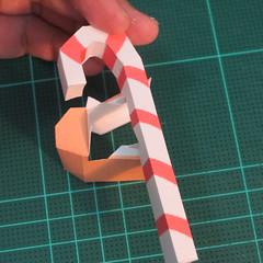 วิธีทำโมเดลกระดาษตุ้กตาคุกกี้รัน คุกกี้ผู้กล้าหาญ แบบที่ 2 (LINE Cookie Run Brave Cookie Papercraft Model Version 2) 016