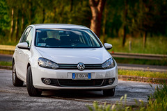 My Golf (Piero Zanetti) Tags: auto car vw golf canon135l