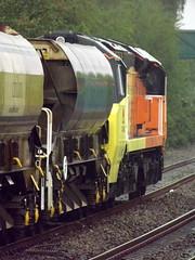 Colas Rail 70802 on Ballast Train (robertbester66) Tags: spaldingstation colasrail 70802 spalding railways