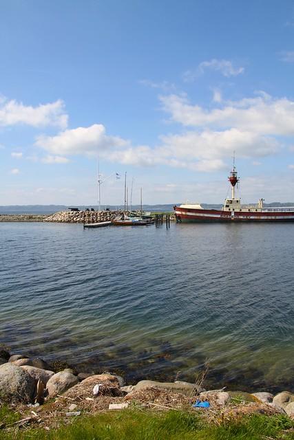 Kanonerne ved havne indgangen
